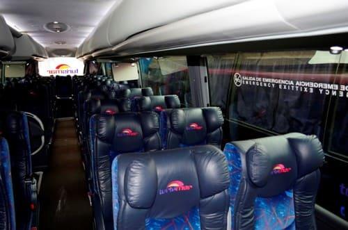 se déplacer en bus au Mexique