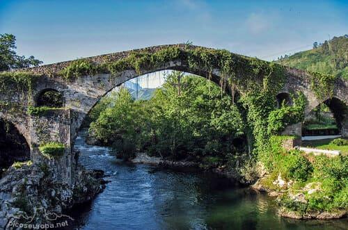 Le pont romain Cangas de onis Asturies