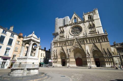 Cathédrale vieux Lyon
