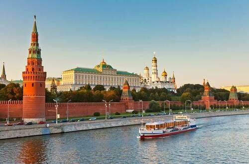 bateau Moscou croisière