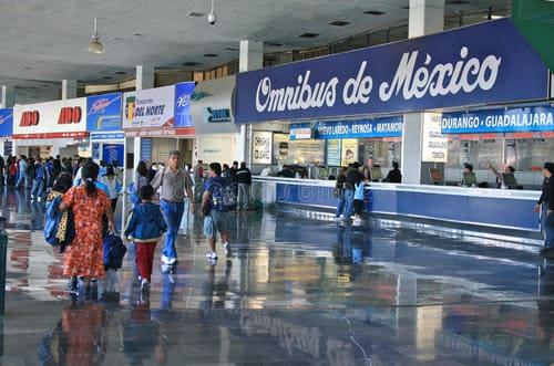 gare centrale autobus Mexique