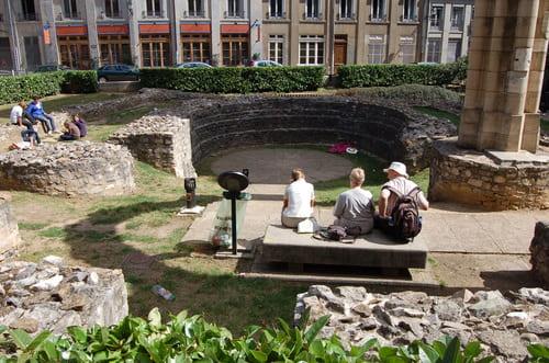 Jardin archéologique Lyon Saint Jean