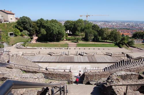 théâtre gallo romain de Lyon