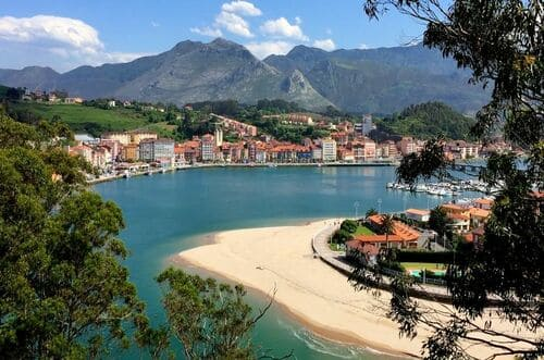 Plage Asturies playa de la Vega Ribadesella