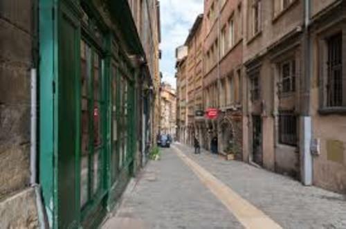 Vieux Lyon rue du boeuf