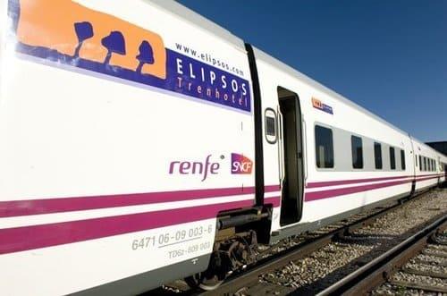 Train Elipsos pour l'Andalousie