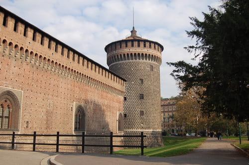Chateau dans Milan