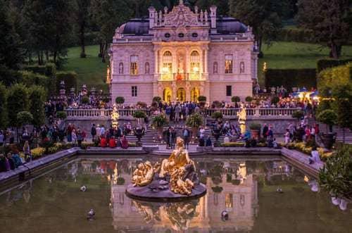 chateau à visiter dans environs de Munich