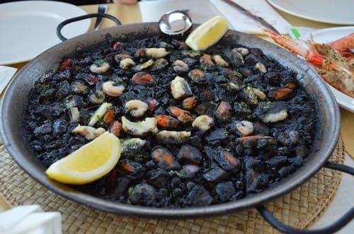 paella noire