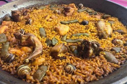 recette paella Valencien