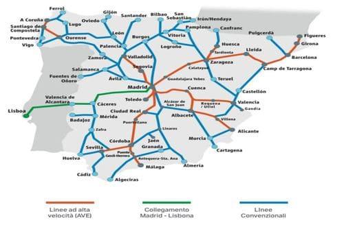 réseau train Asturies