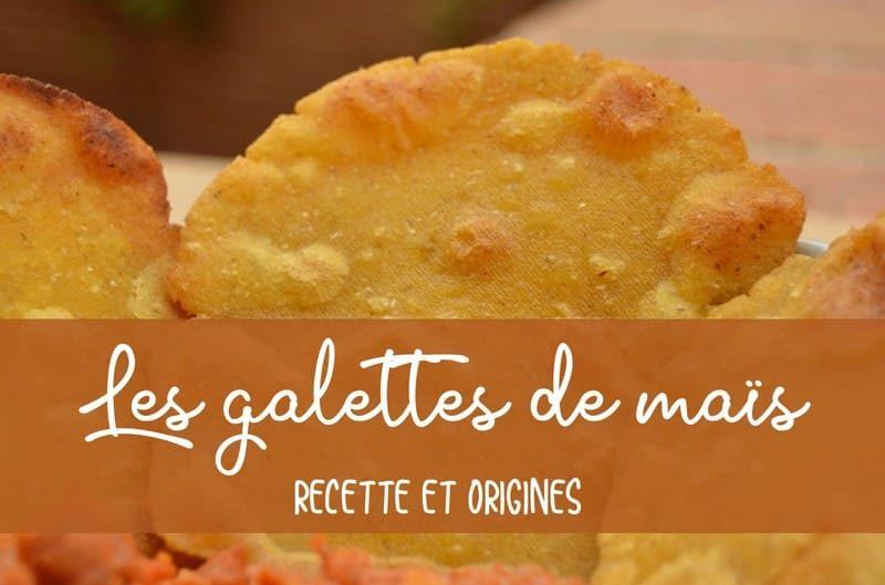 recette galettes de maïs
