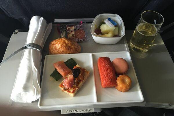 plateau repas dans les avions