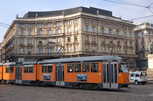 tramway de Milan