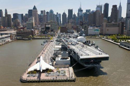 Musée USS intrepid new york