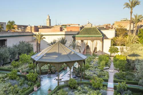 jardins magnifique Marrakech