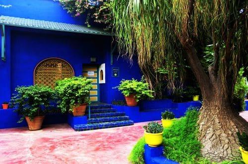 jardin bleu Marrakech