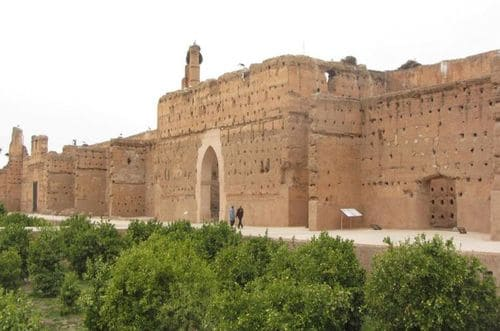 Palais El Badi visite