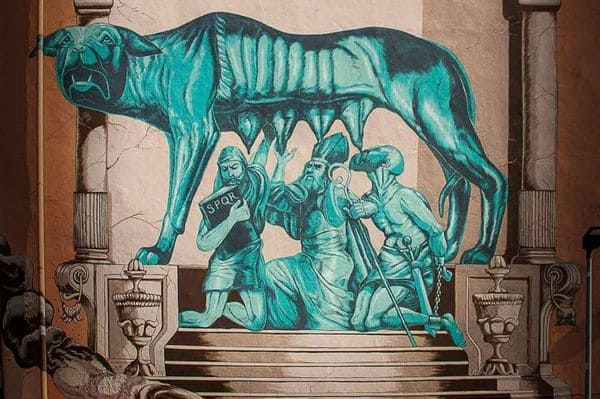 Le Street Art se trouve dans le quartier Pigneto
