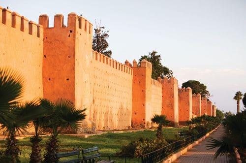 tour remparts Marrakech caleche