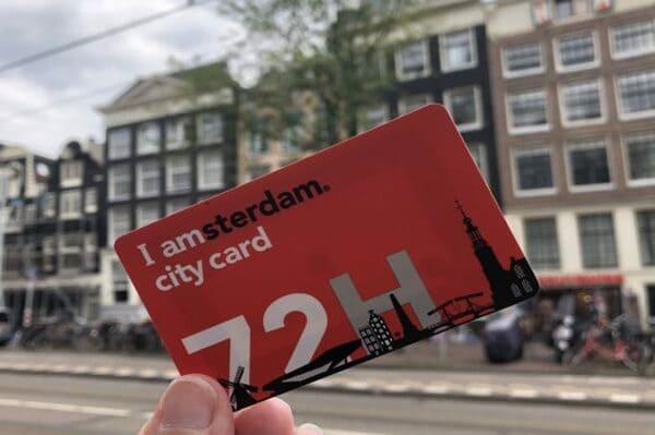 Carte pour visiter Amsterdam