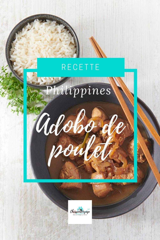 Recette philippinnes de l'Adobo