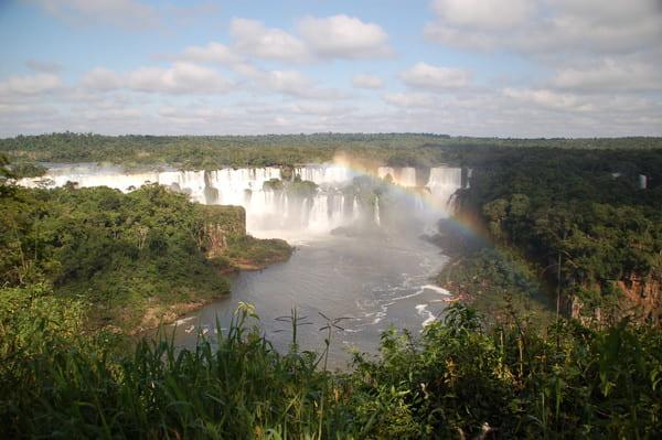 Panorama côté Brésil Iguazu