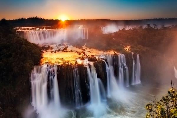 visite Iguazu coucher de soleil