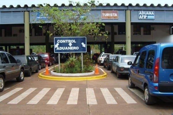 Passage frontière Iguazu