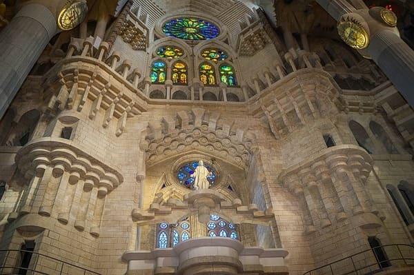 Visite de l'intérieur de la cathédrale Barcelone