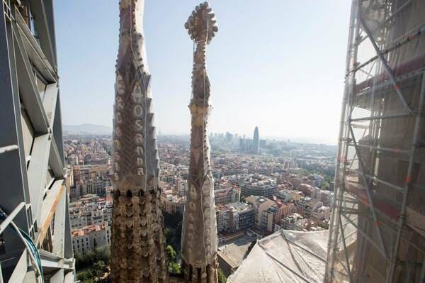 visite avec guide pour la Sagrada Familia