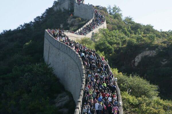 section touristique grande muraille