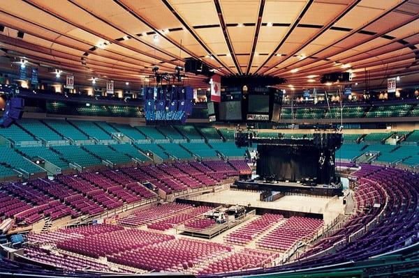 concert au Madison Square Garden