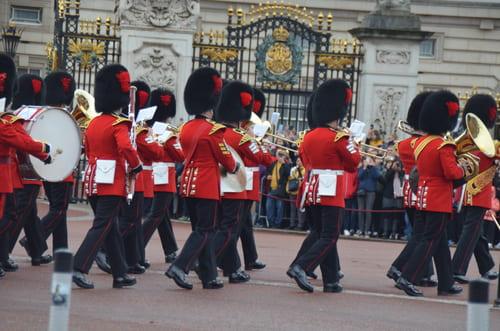 Relève de la garde Buckhingham Palace