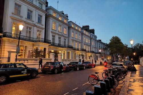 Notting Hill la nuit