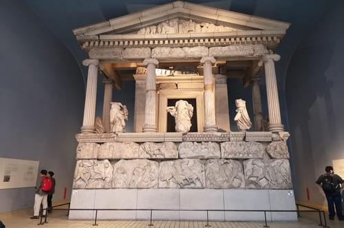 Visite de musée londres