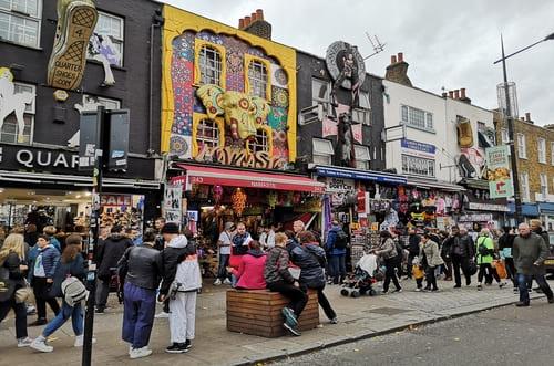 Boutiques Camden à Londres