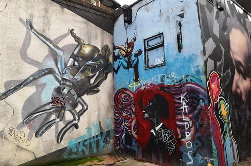 batman Camden Street Art
