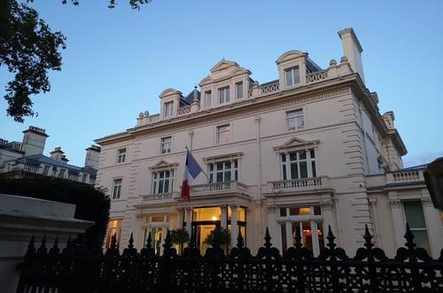 L'ambassade de France à Londres