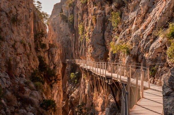 Chemin de randonnée du caminito del Rey