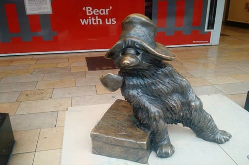 Statue de Paddington l'ours