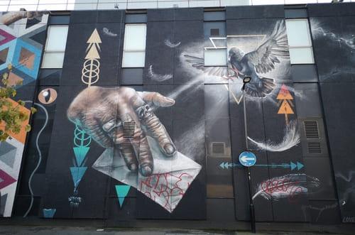 Street Art immeuble