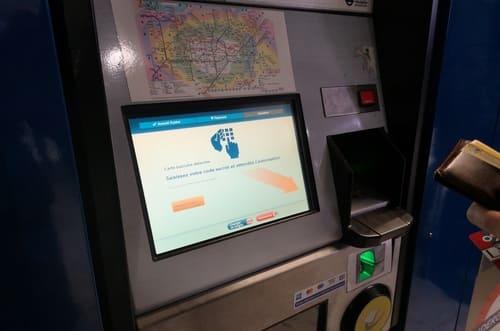 bornes en français métro londres