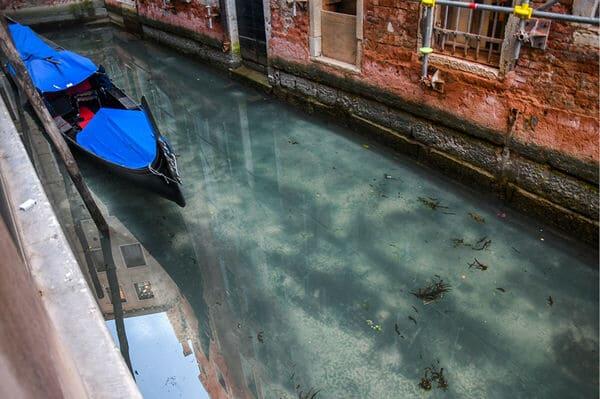 Les canaux de Venise pendant le confinement