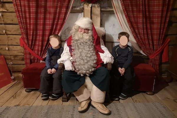 Père noel de Rovaniemi