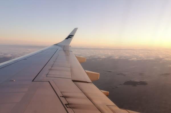 Avion pour la laponie
