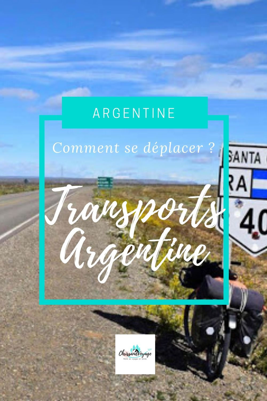 Comment se déplacer en Argentine