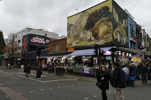 Quartier Street Art Camden Londres