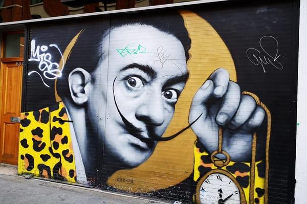 Dali en Street Art