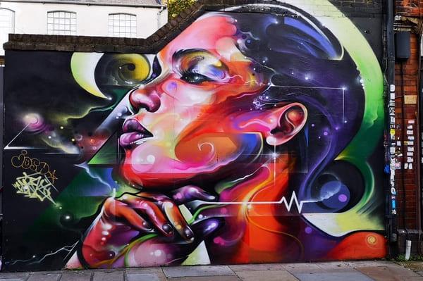 Portrait Street Art de Cenz